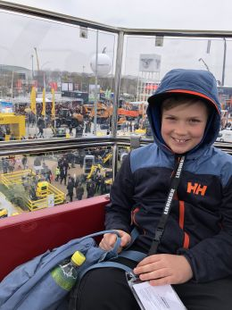 PLATTNERs next generation visits BAUMA